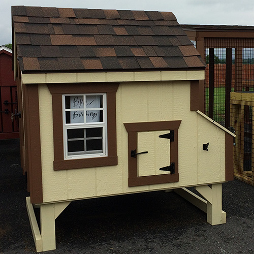 A-Frame A33 3x3 CHICKEN COOPS