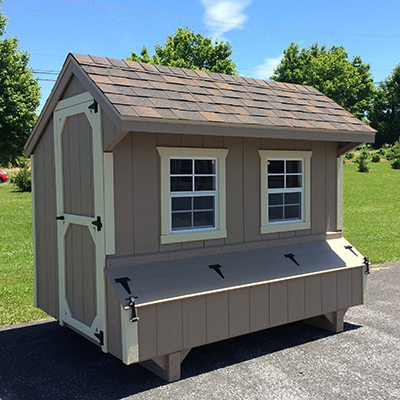 amish chicken coop