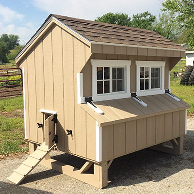 chicken coops with chicken ramps