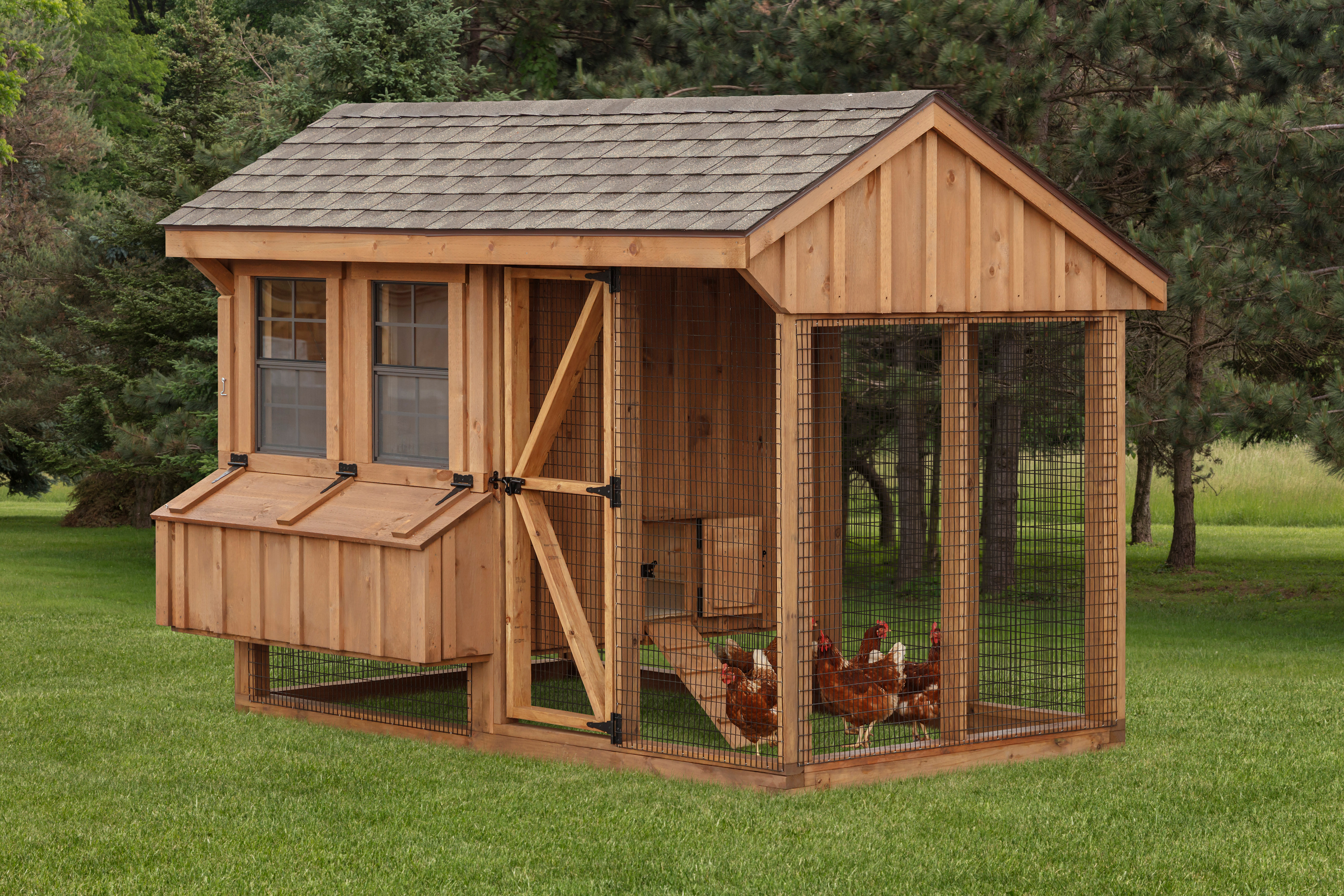 cedar chicken coop for sale