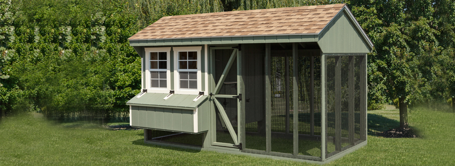 Combination Chicken Coop Sale