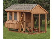 Combination Style Chicken Coops