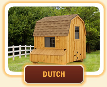 Dutch Style Chicken Coops
