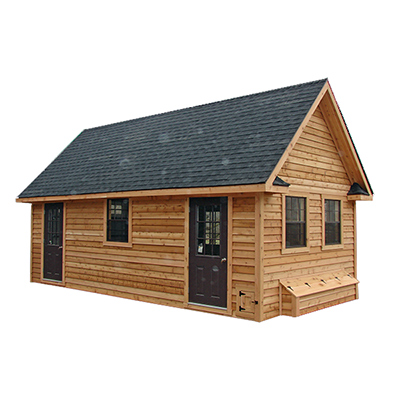 Lean-To L44 4x4 CHICKEN COOPS