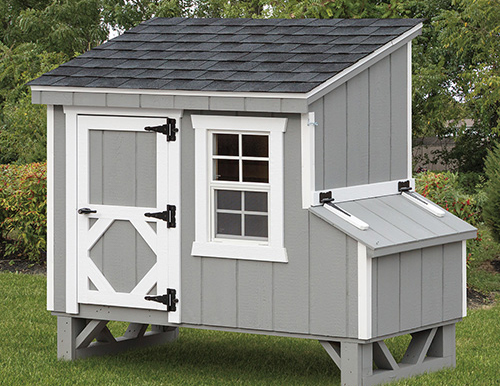 Lean-To L45 4x5 CHICKEN COOPS